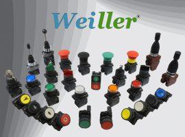 WL5 Serisi 22mm Plastik Butonlar