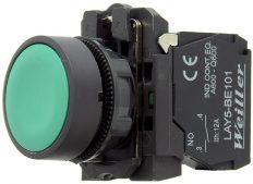 WL5 22mm Plastik Yaylı Yeşil Start Buton (1NO)