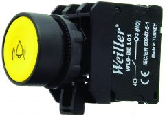 WL9 22mm Yaylı Alarm İşaretli Start Buton (1NO)