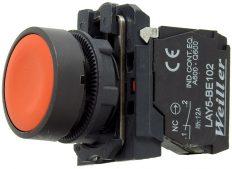 WL5 22mm Plastik Yaylı Stop Buton (1NC)