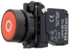 WL5 22mm Plastik İşaretli Yaylı Buton – Start Buton (1NO)