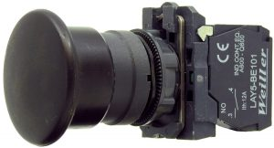 WL5 22mm Plastik Yaylı Start (Kayıcı) Mantar Buton(1NO)