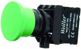WL9-AC31 Plastic Mushroom Button (1NO)