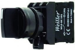 WL9-AD33 Plastic Selector Button (1-0-2/2NO)