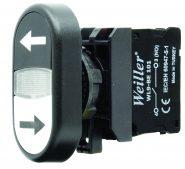 WL9-AL4252 Plastic Twin Button (1NO+1NO)