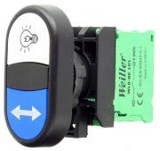 WL9-AL6181 Plastic Twin Button (1NO+1NO)