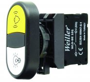 WL9-AL7181 Plastic Twin Button (1NO+1NO)