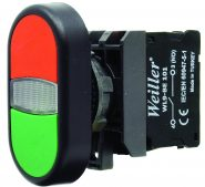 WL9  22mm Plastik Start Stop İkiz Buton (1NO/1NC)