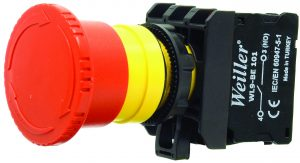 WL9-AS542 Plastic Emergency Stop Button (1NC)