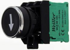 22mm Yaylı Metal Kaplamalı Aşağı Ok İşaretli Start Buton (1NO)