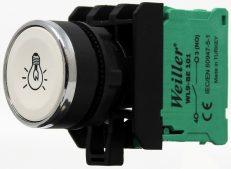 22mm Yaylı Metal Kaplamalı Lamba İşaretli Start Buton (1NO)