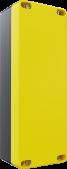 5'li Sarı – Siyah Deliksiz Büyük Boy Boş Kutu