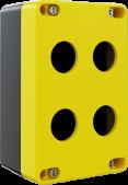 4'lü Sarı – Siyah Küçük Boy Boş Kutu