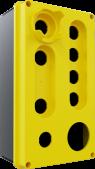 9'lu Sarı – Siyah Büyük Boy Boş Kutu