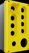 10'lu Sarı – Siyah Boş Kutu