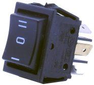 6 Pin – Geniş Tip – Yaylı Vinç Anahtarı (ON-OFF-ON)