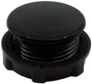Ø22 mm Plastik Somunlu Kör Tapa (Renk Belirtiniz – Gri / Siyah)