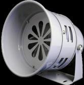MS-290-220 Ø130mm Motorlu Siren – Metal Gövde – 220VAC