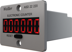 ASD-22 220 VAC Digital Counter (6 Digit/NPN)