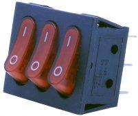 9 Pin – Işıklı – 3'lü (ON-OFF) Anahtar