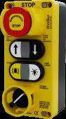 WL9-ELV615E 6'lı Plastik Alarm ve Aydınlatmalı Butonlu Revizyon Kutusu