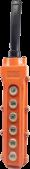 WLK-6 (VK-6) Tek Hızlı 6'lı Mekanik Kilitli Kontak 5A Vinç Kumandası