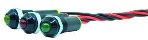 WLP8-71-24 Ø8 mm Plastik Kablolu Sinyal 12-24VAC/DC