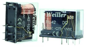 WLRL-42 24VDC 8 Pin Relay (1NO+1NC)