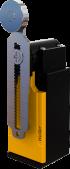 XCK-SEM122 18mm. Açısal Hareketli Ayarlanabilir Metal Makaralı Döner Kol Limit Switch 1NO/1NC