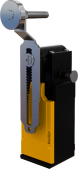 XCK-SEM122ARE 18mm.  Ayarlanabilir Resetli Kararlı Metal Makaralı Eğri Kol Limit Switch 1NO/1NC