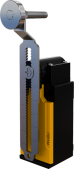 XCK-SEM123AE 18mm Metal Makaralı Ayarlanabilir Eğri Kol Limit Switch 1NO/1NC