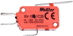 XV-152-1C25 Micro Switch 1NO+1NC