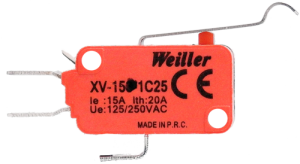 XV-154-1C25 Çengel Palet Mikro Switch (1NO+1NC)