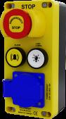 WL9-ELV411E Acil Stop Lamba Alarm Butonlu 16A Prizli Kuyudibi Kutusu