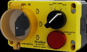 WL9-BYP301 3Kad.Bypass Regülatör Açma Katta Led Kombinasyon