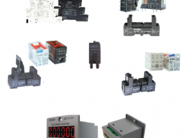Relays & Sockets & Counters