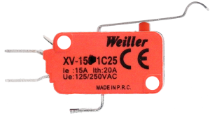 XV-154-1C25 Micro Switch 1NO+1NC