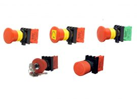 WL9 Series Plastic Emergency Stop Buttons