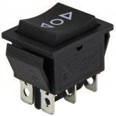 KCD-501 6  Pin Geniş Tip Vinç Anahtarı ON/OFF/ON