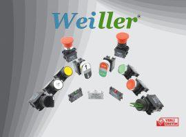 WL9 Serisi 22mm Metal Kaplama Butonlar