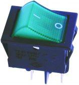 W-502G 4 Pin Işıklı Geniş Tip ON/OFF Anahtar