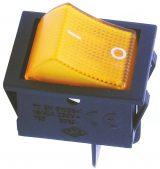 W-502Y 4 Pin Işıklı Geniş Tip ON/OFF Anahtar